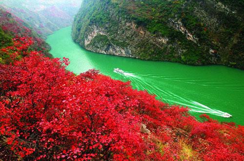 三峡秋季风景图片